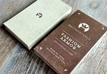 British Steele Hang Tags by Typework Studio Design Agency