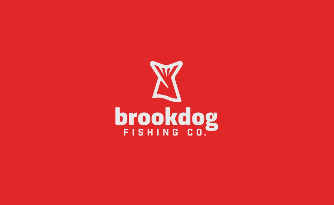 Brookdog Fishing Logo Design