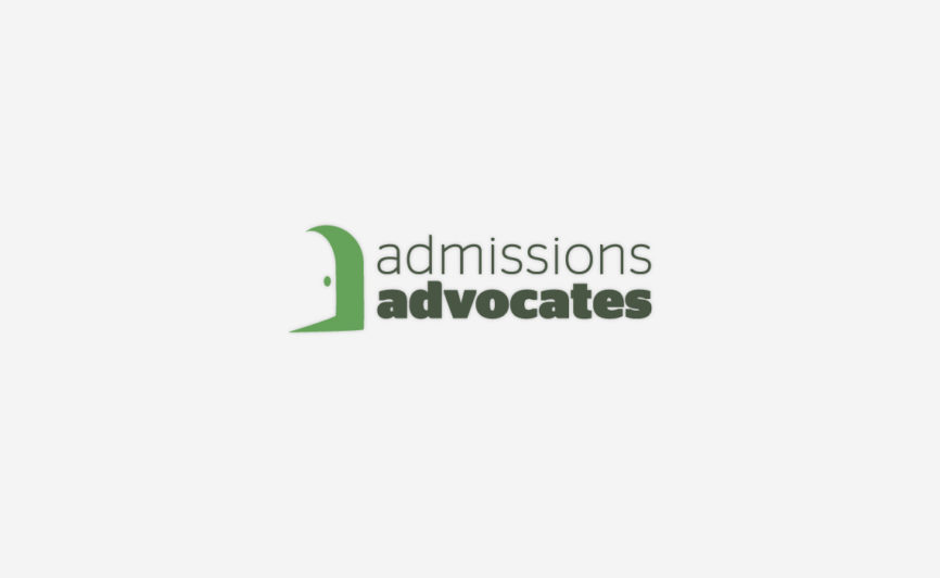 Admissions Advocates Logo Design by Typework Studio Design Agency