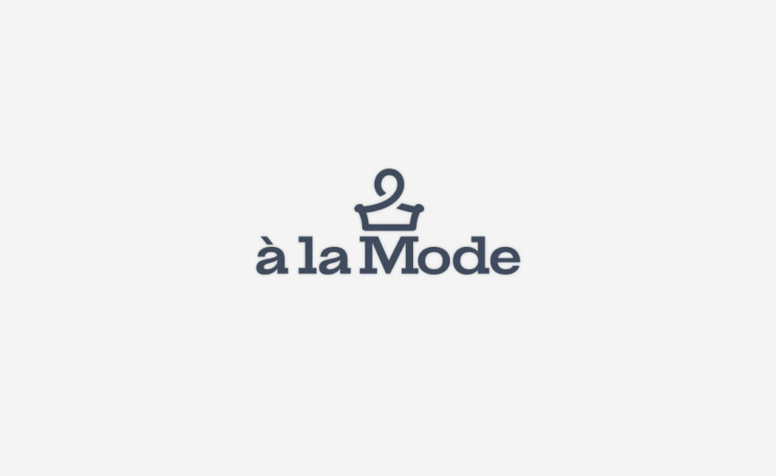 A la mode fashion logo design by Typework Studio Design Agency