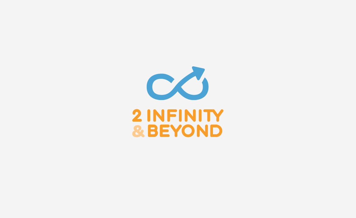 2 Infinity & Beyond Logo Design by Typework Studio Design Agency