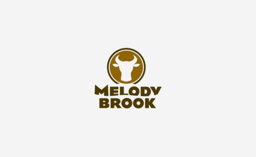Melody Brook Farm Logo Design by Typework Studio Logo Design Agency