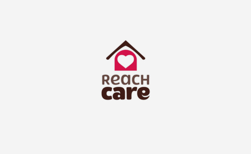 Reach Care Logo Design by Typework Studio Logo Design Agency