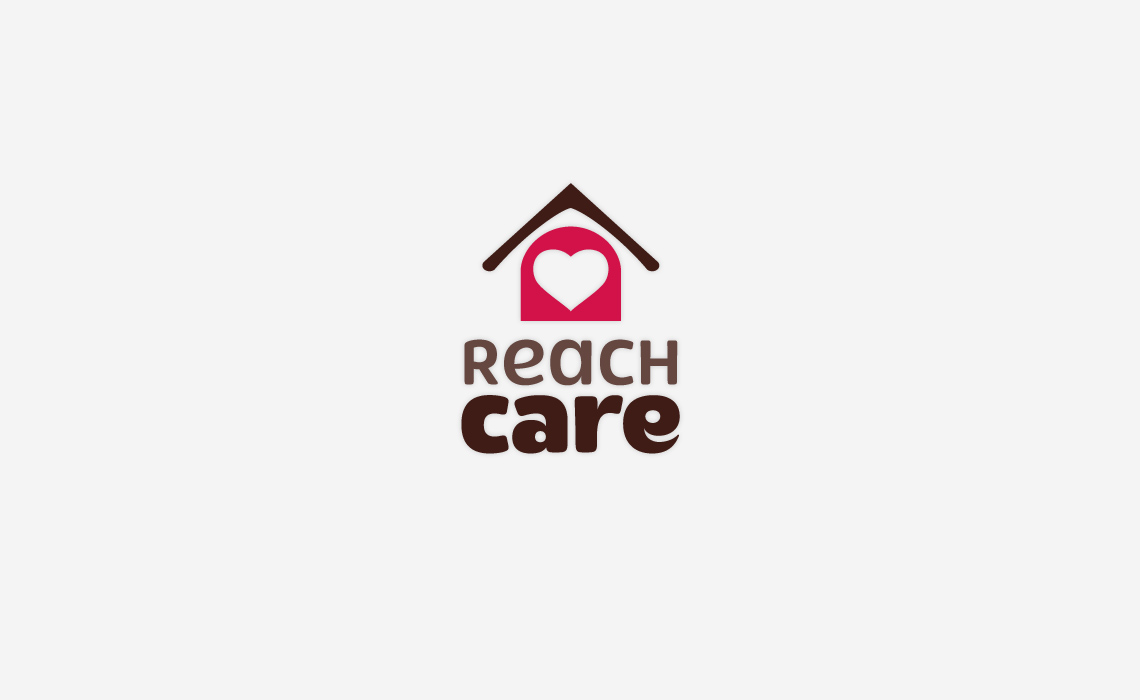 Reach Care Logo Design by Typework Studio Logo Design Agency