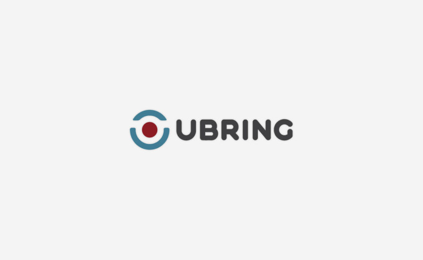 UBring Logo Design by Typework Studio Logo Design Agency
