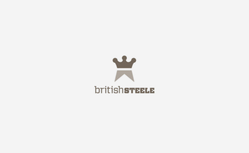 British Steele Fashion Logo Design by Typework Studio Design Agency