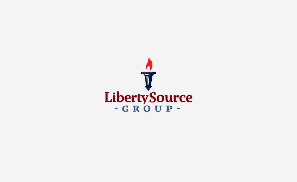 Liberty Source Group Logo Design by Typework Studio Logo Design Agency