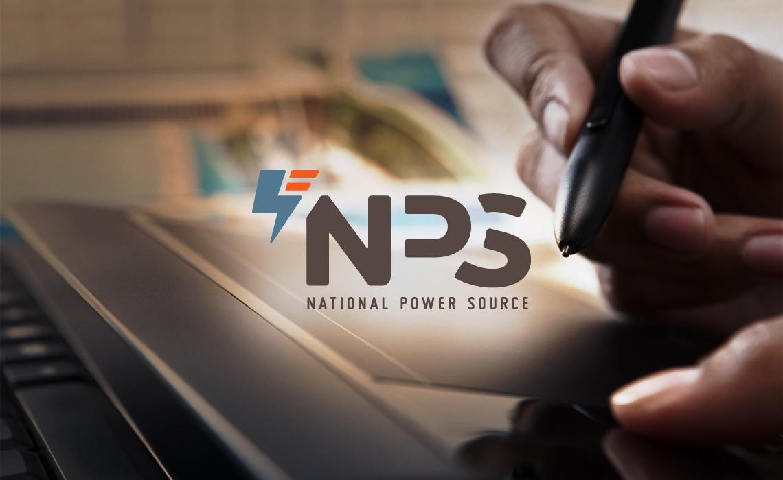 National Power Source Branding by Typework Studio Logo Design Agency