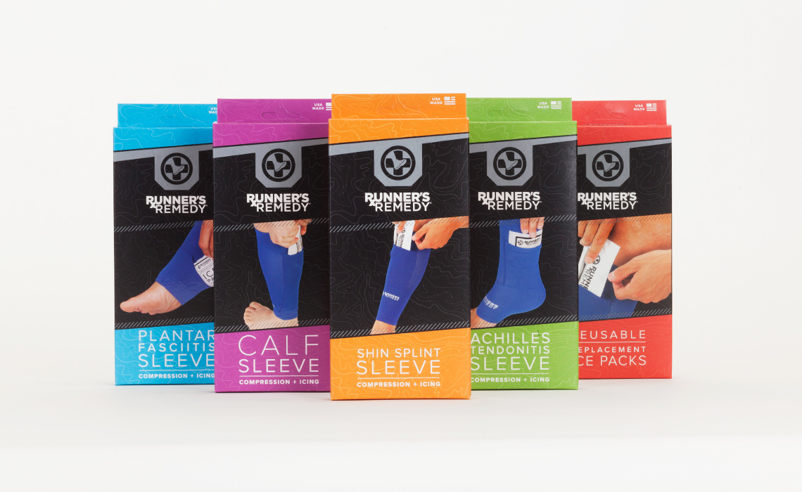 Runners Remedy Product Photography by Typework Studio