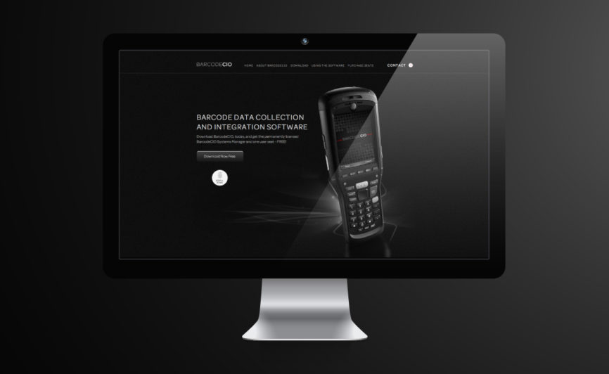 BarcodeCIO CMS Web Design by Typework Studio Web Design Agency