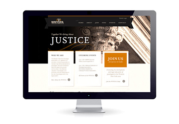 WNY Paralegals CMS Web Design by Typework Studio Web Design Agency