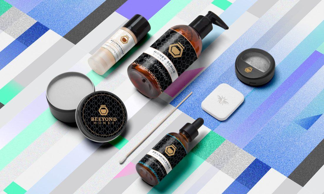 Beeyond Honey Beauty Brand Identity by Typework Studio Design Agency