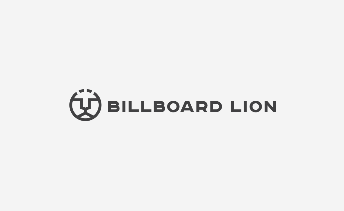 Billboard Lion Logo Design by Typework Studio