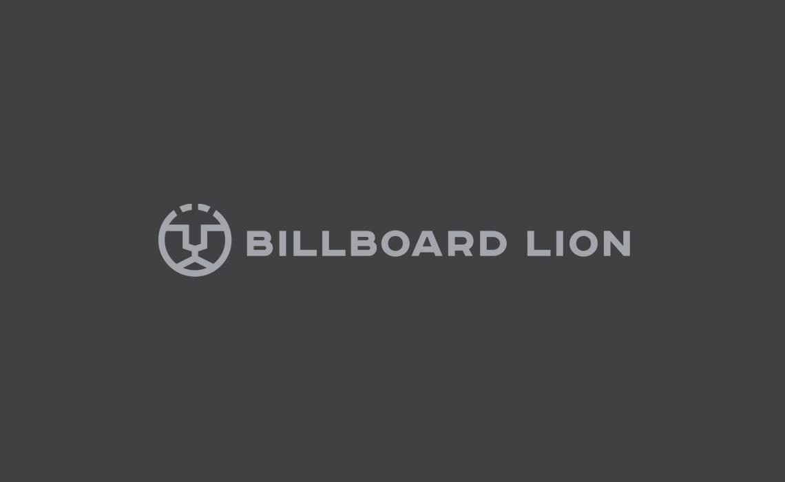 Billboard Lion Logo Design by Typework Studio