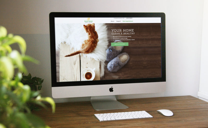 sweet home organics CMS Web Design - Typework Studio