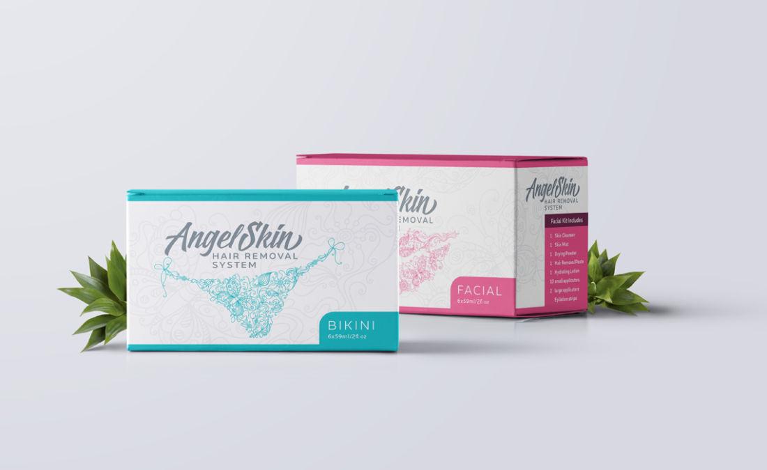 Alexandria Professional Beauty Skin Package Design by Typework Studio Logo Design Agency