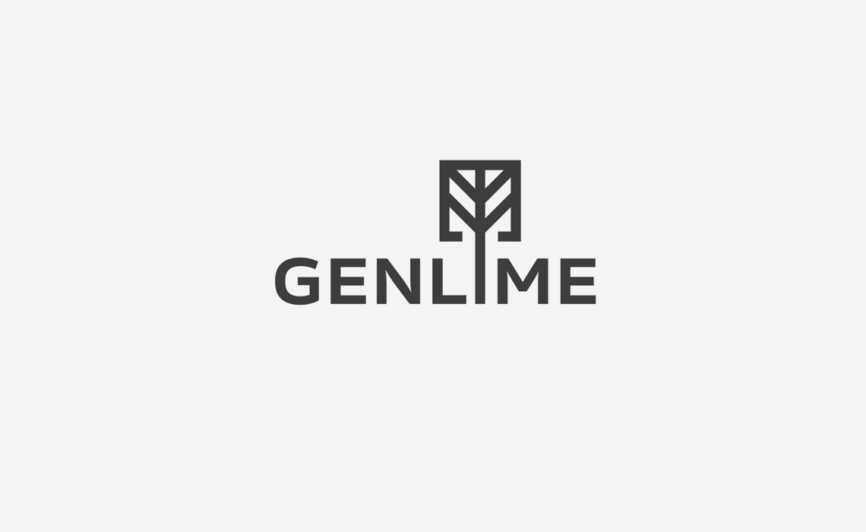 Genlime Technology Logo Design by Typework Studio Logo Design Agency