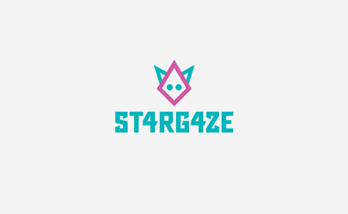 St4rG4ze Music Logo Design