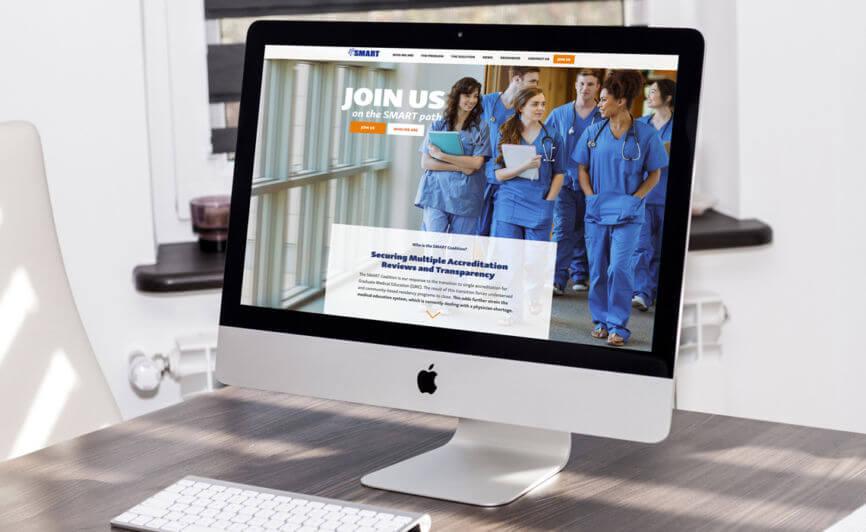 The Smart Coalition CMS Web Design