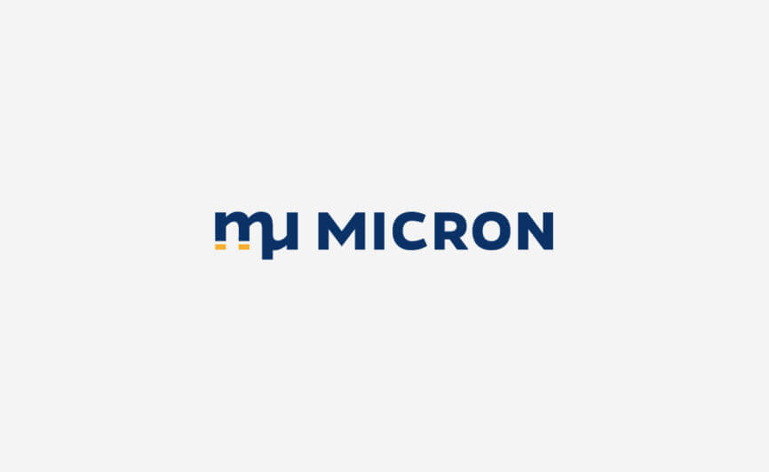 Micron Precision Engineering Logo Design