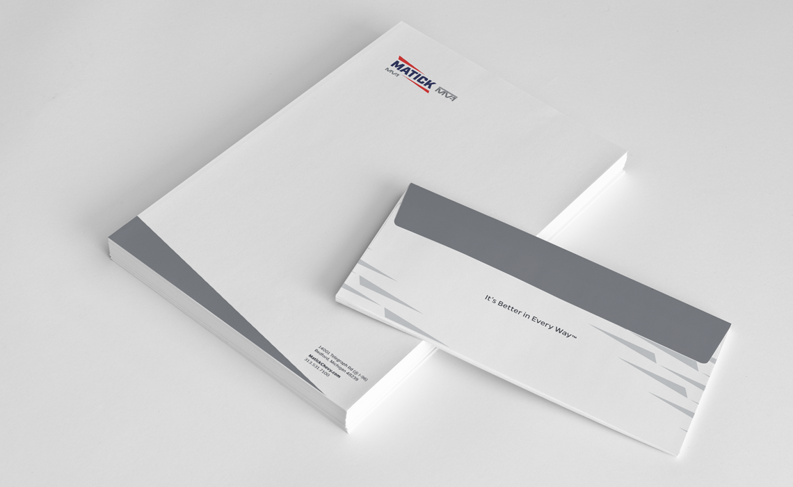 Matick Auto Corporate Branding Design by Typework Studio