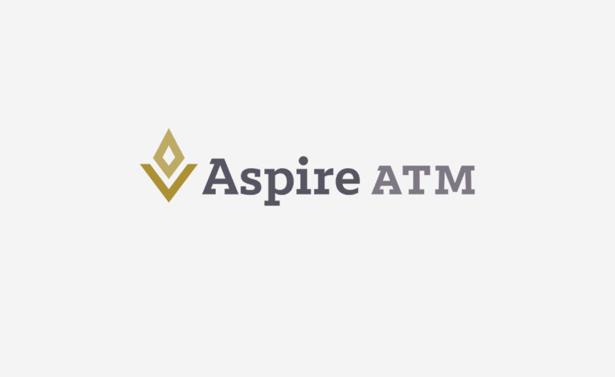 Aspire ATM logo design by Typework Studio