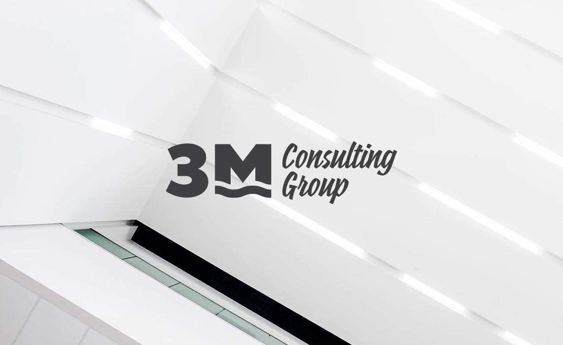 3M Consulting Group Logo Design