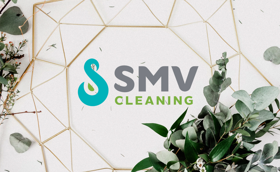 SMV Cleaning Logo Design