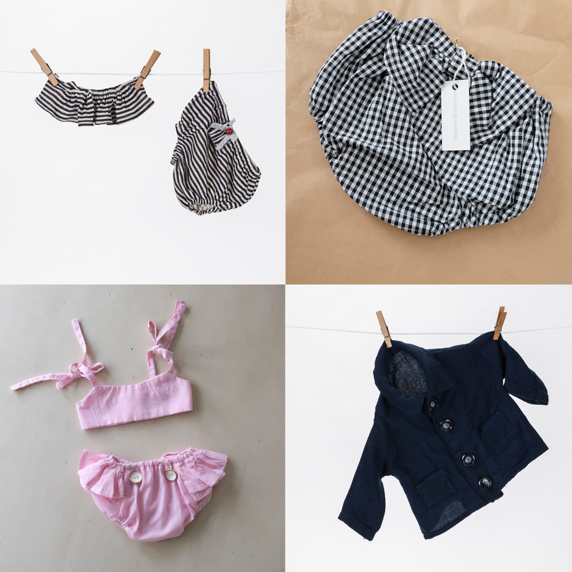 Masters and Maidens Baby Clothing Brand