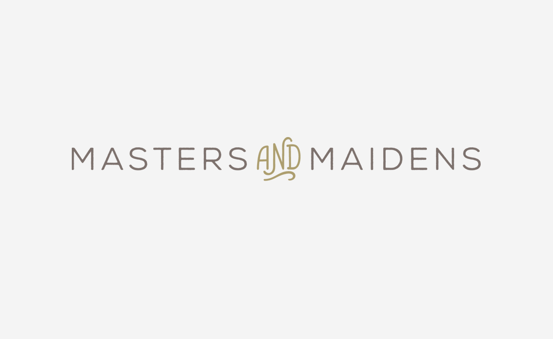Masters and Maidens Baby Clothing Brand Logo