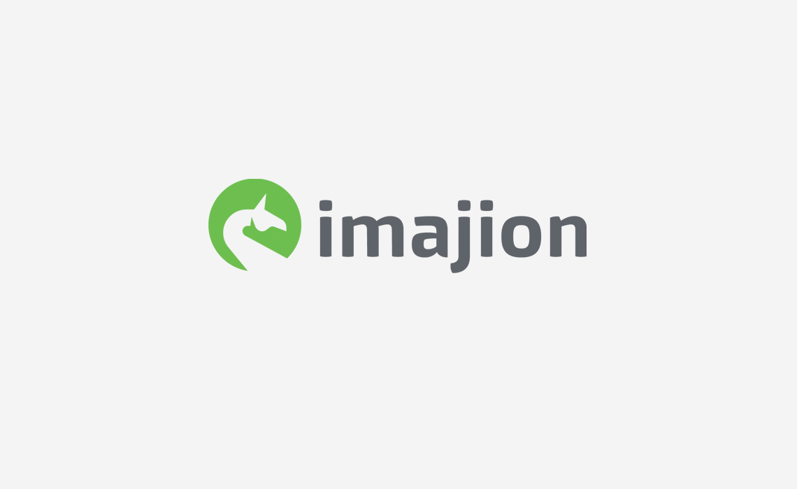 Imajion Virtual Reality Logo Design