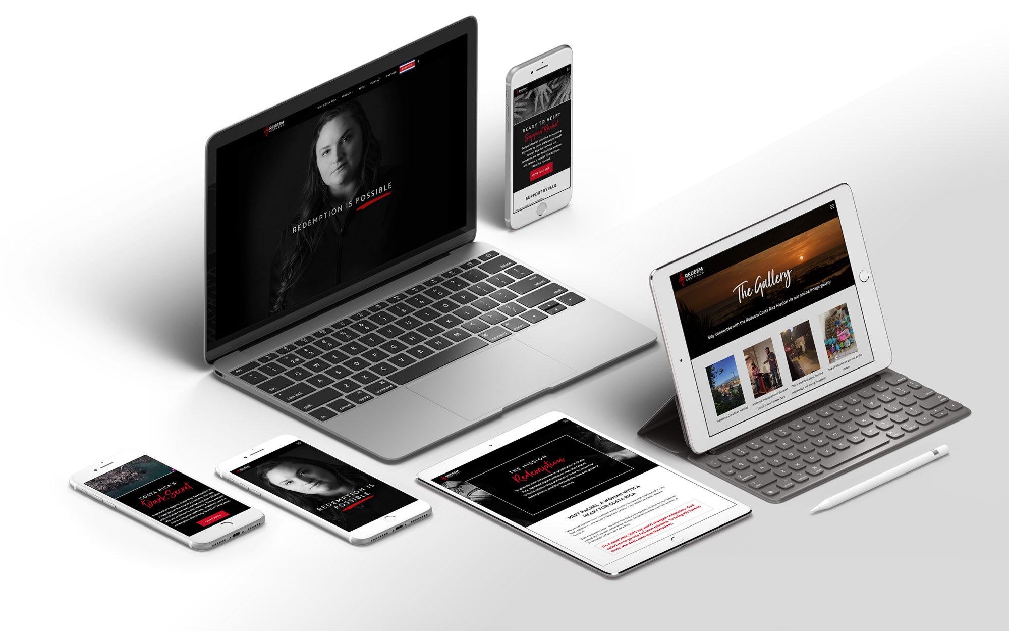 Redeem Costa Rica Website Design