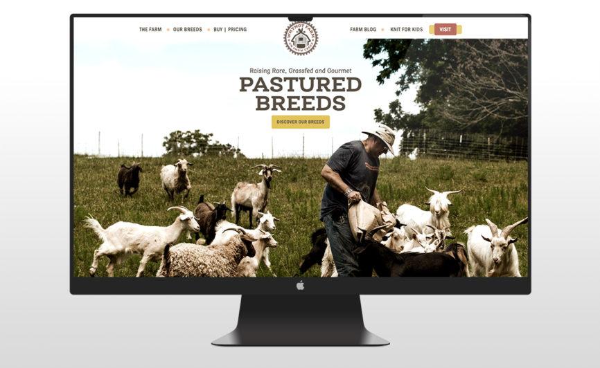 WhyNot Farm CMS Web Redesign