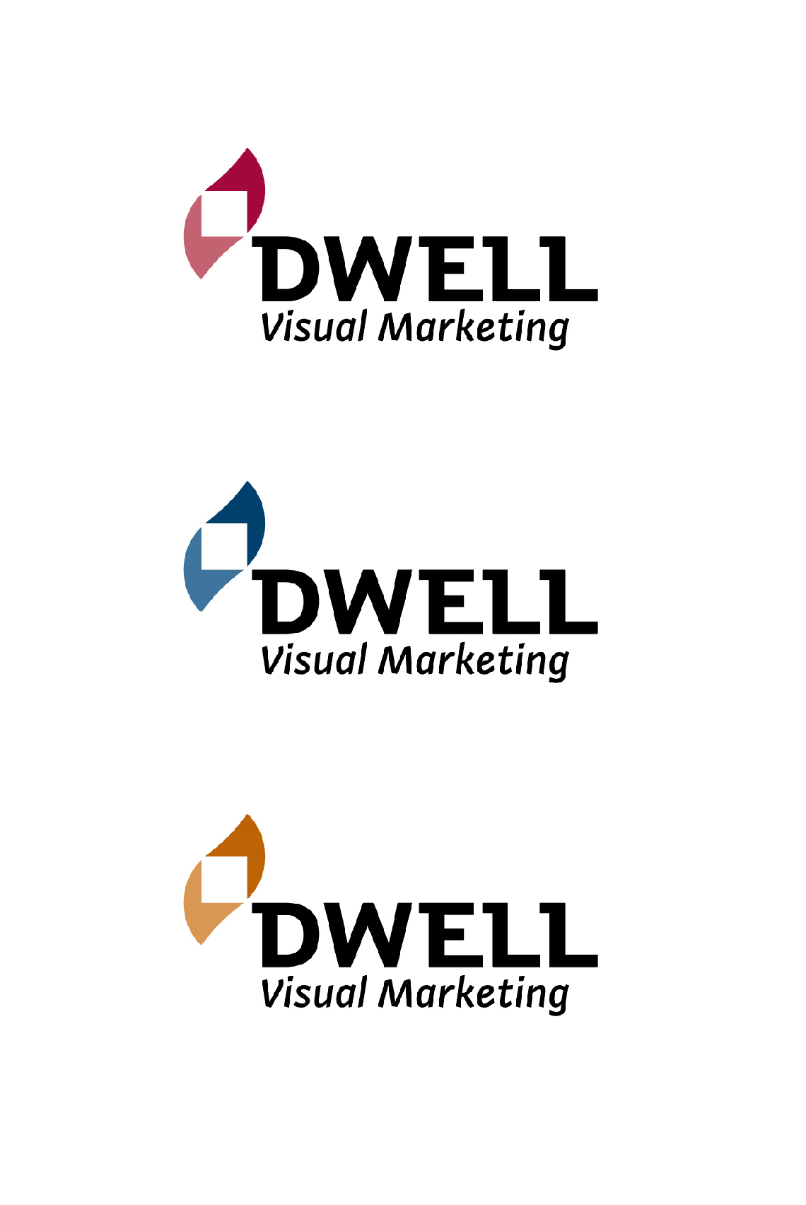 Dwell Logo Design Color Version