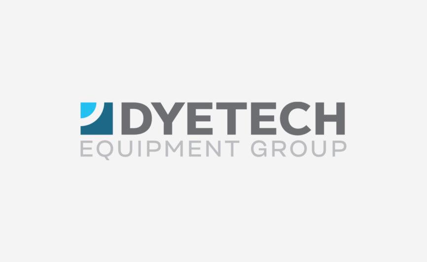Dyetech Equipment Group Logo Design