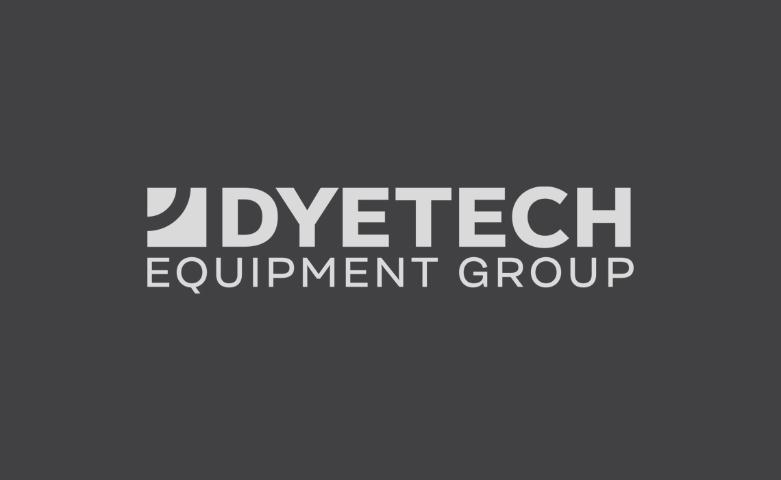 Dyetech Equipment Group Logo Design