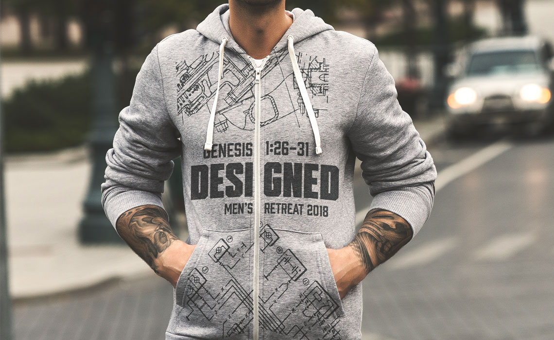 Restoration Church Sweatshirt Design