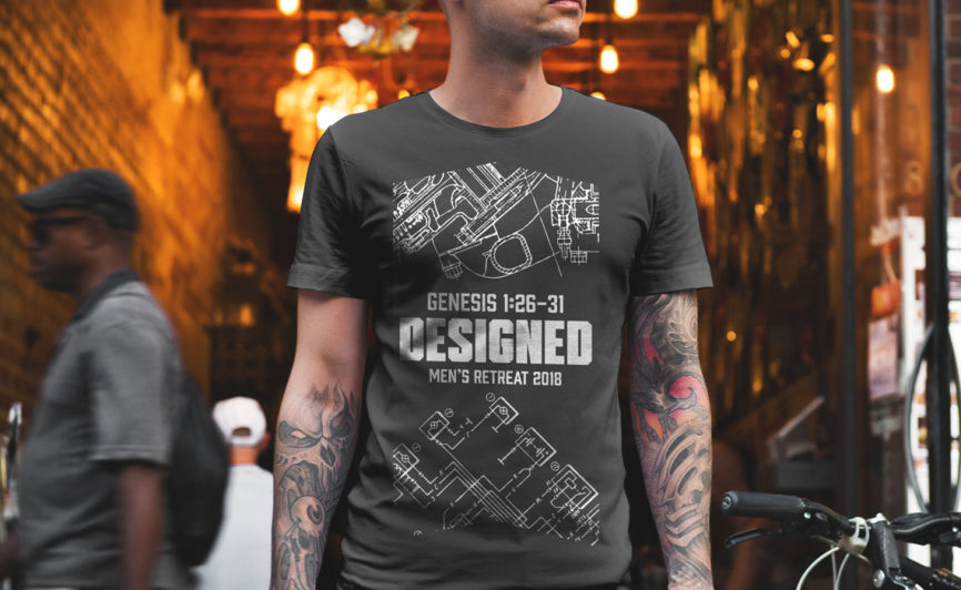 Restoration Church T-Shirt Design