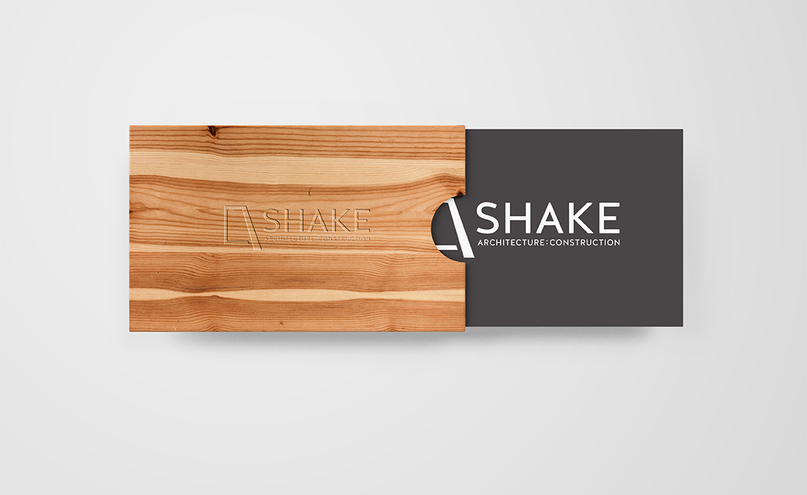 Shake Architecture Business Card Design