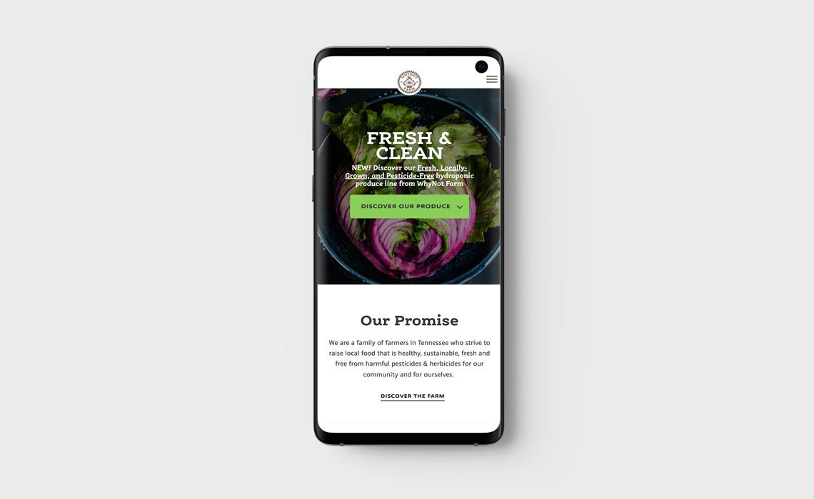 Why Not Farm Responsive Design