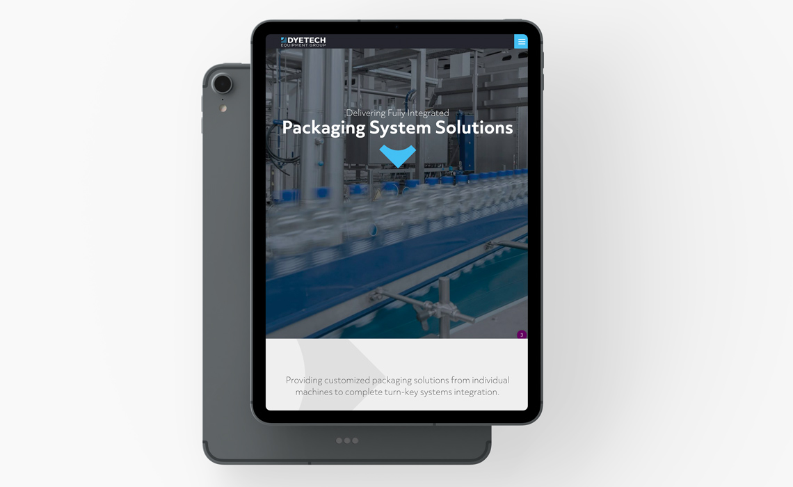 Dytech Equipment Mobile Design